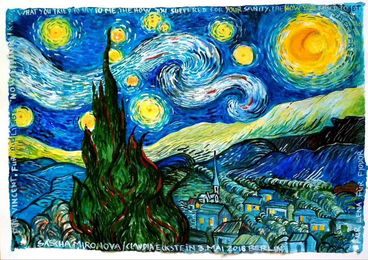 Referat über Vincent van Gogh